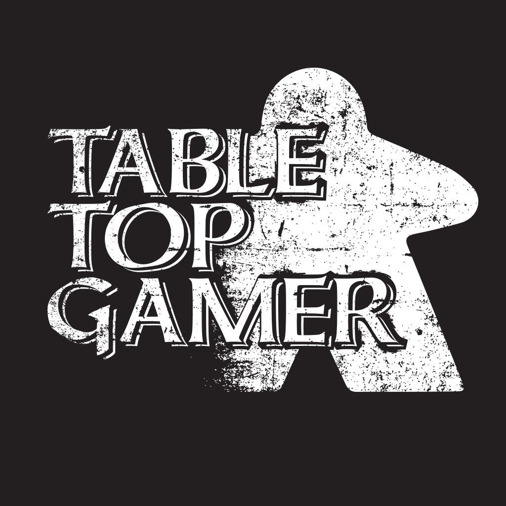 Table Top Gamer Board Game T-Shirt Close Up