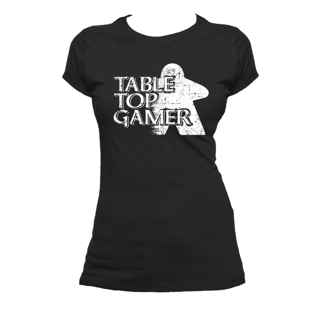 Table Top Gamer Board Game T-Shirt Flat Women's