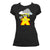The Mighty Meeple: God of Thunder Board Game T-Shirt Flat Women's