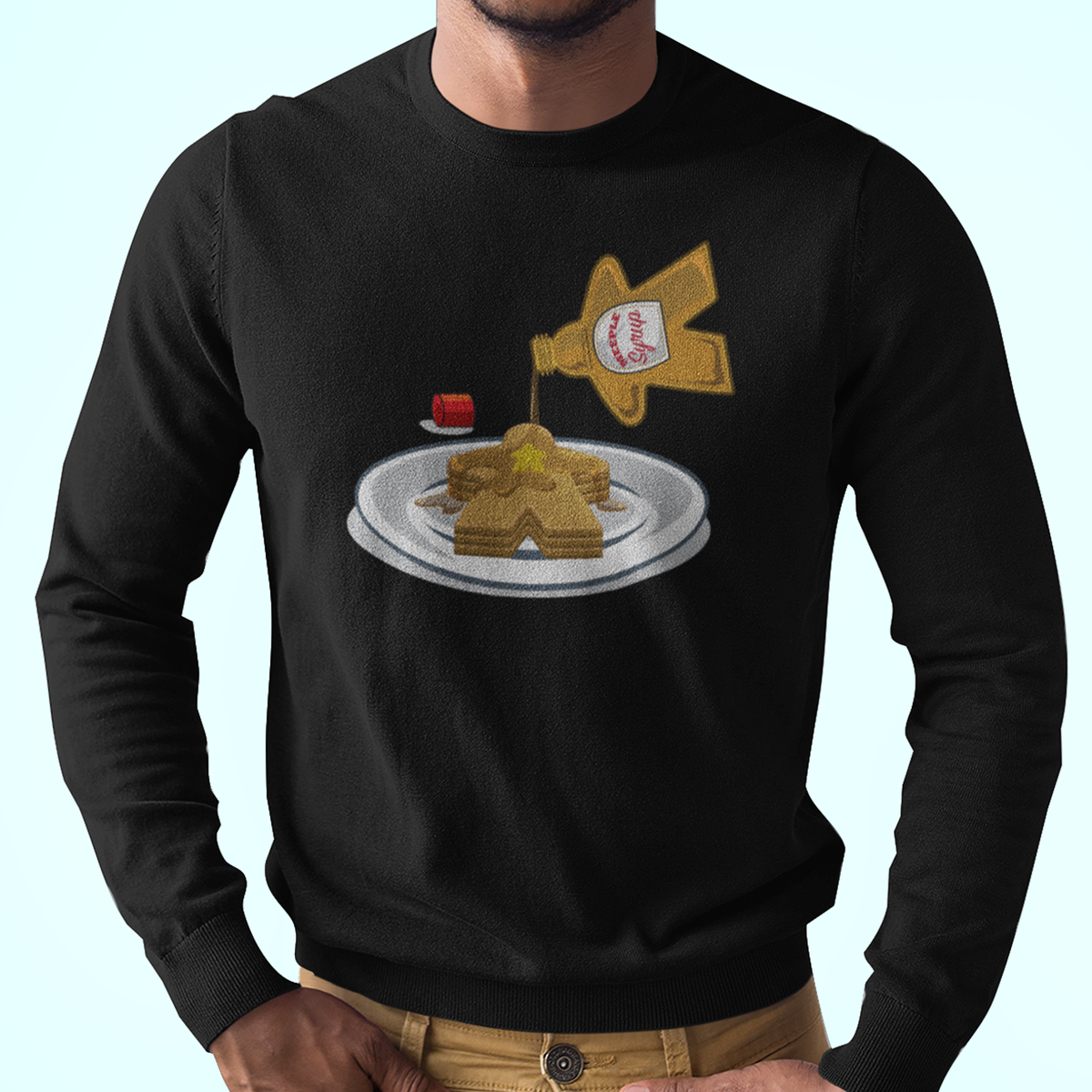 Meeple Syrup Board Game Longsleeve T-Shirt