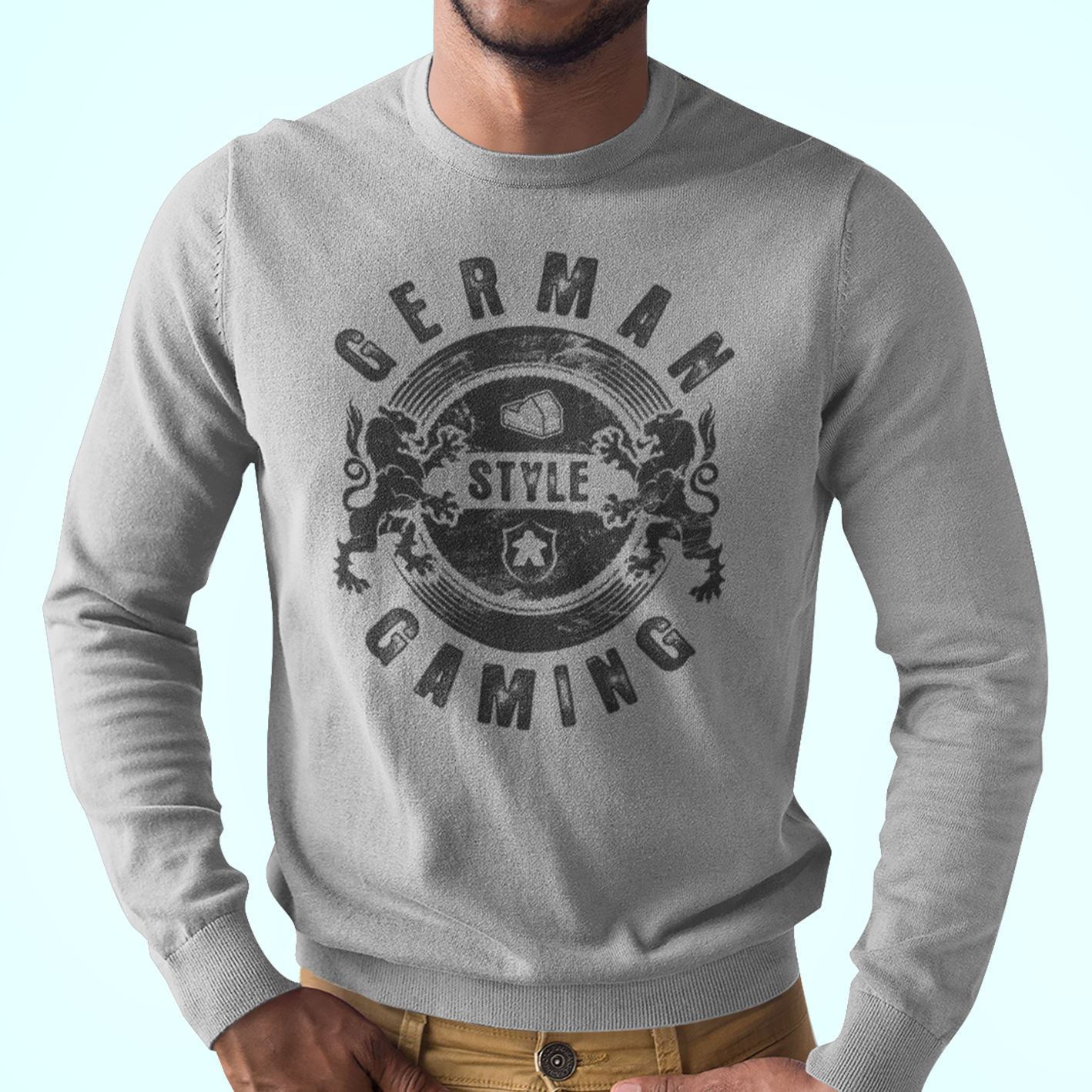 German Style Board Gaming Longsleeve T-Shirt