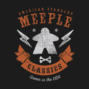 American Meeple Classics - Meeple Shirts - Board Game T Shirt