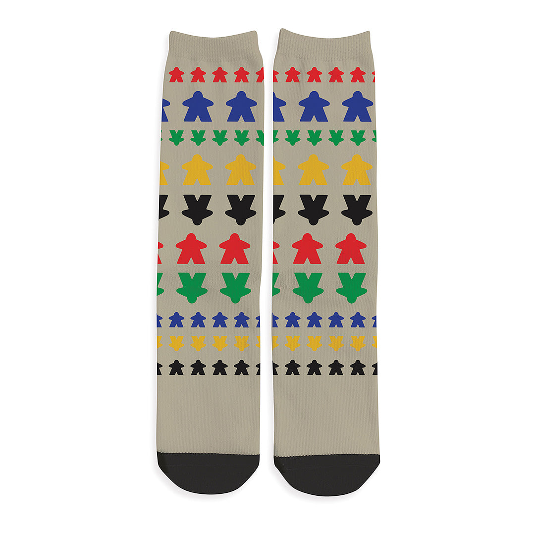 Classic Meeple Colors Socks
