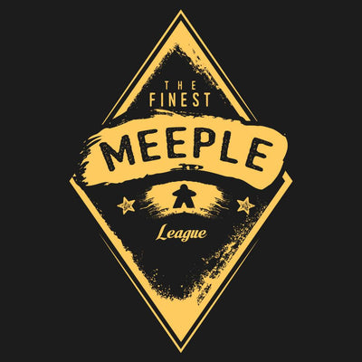 Finest Meeple League - Meeple Board Game T Shirts design