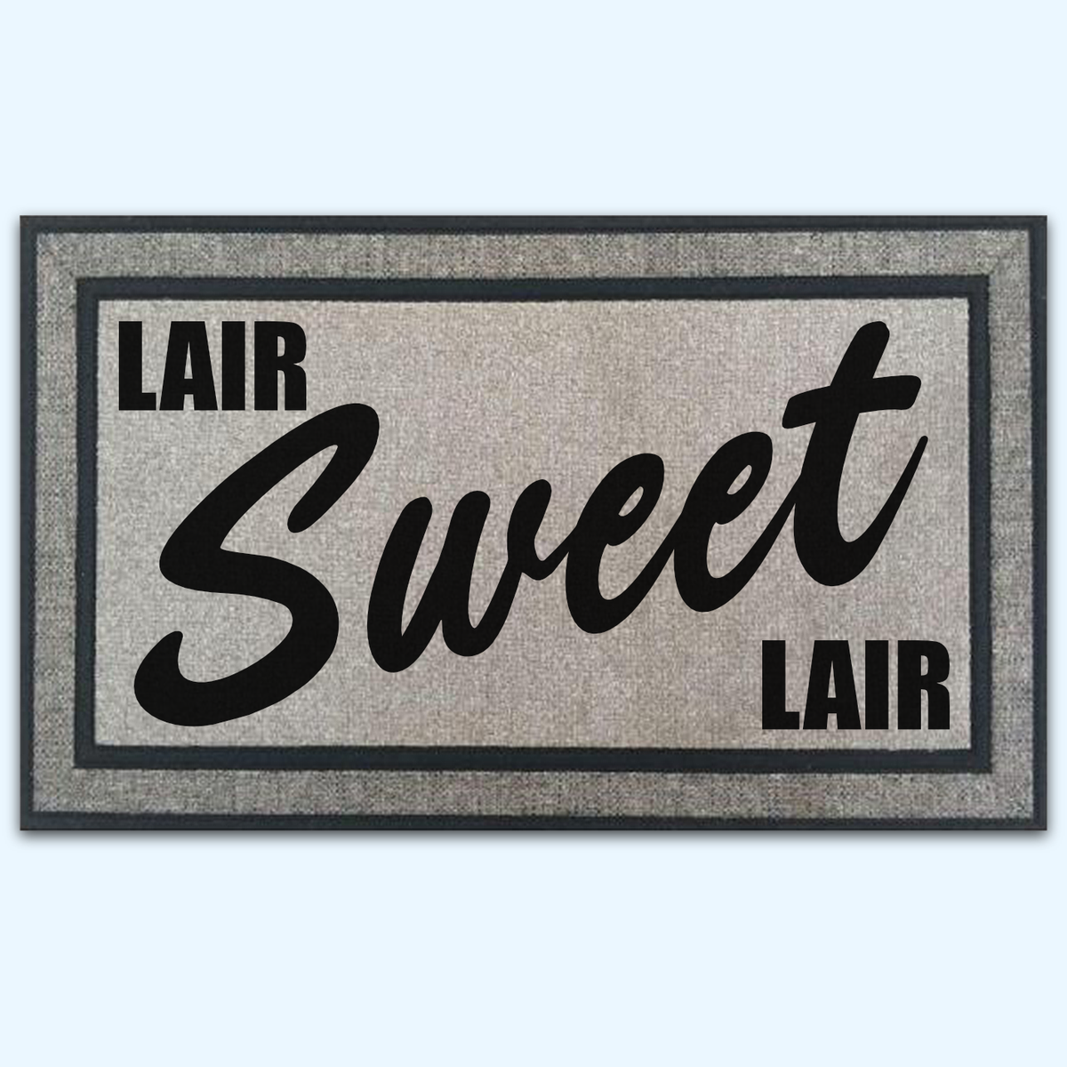 Lair Sweet Lair Board Game Door Mat
