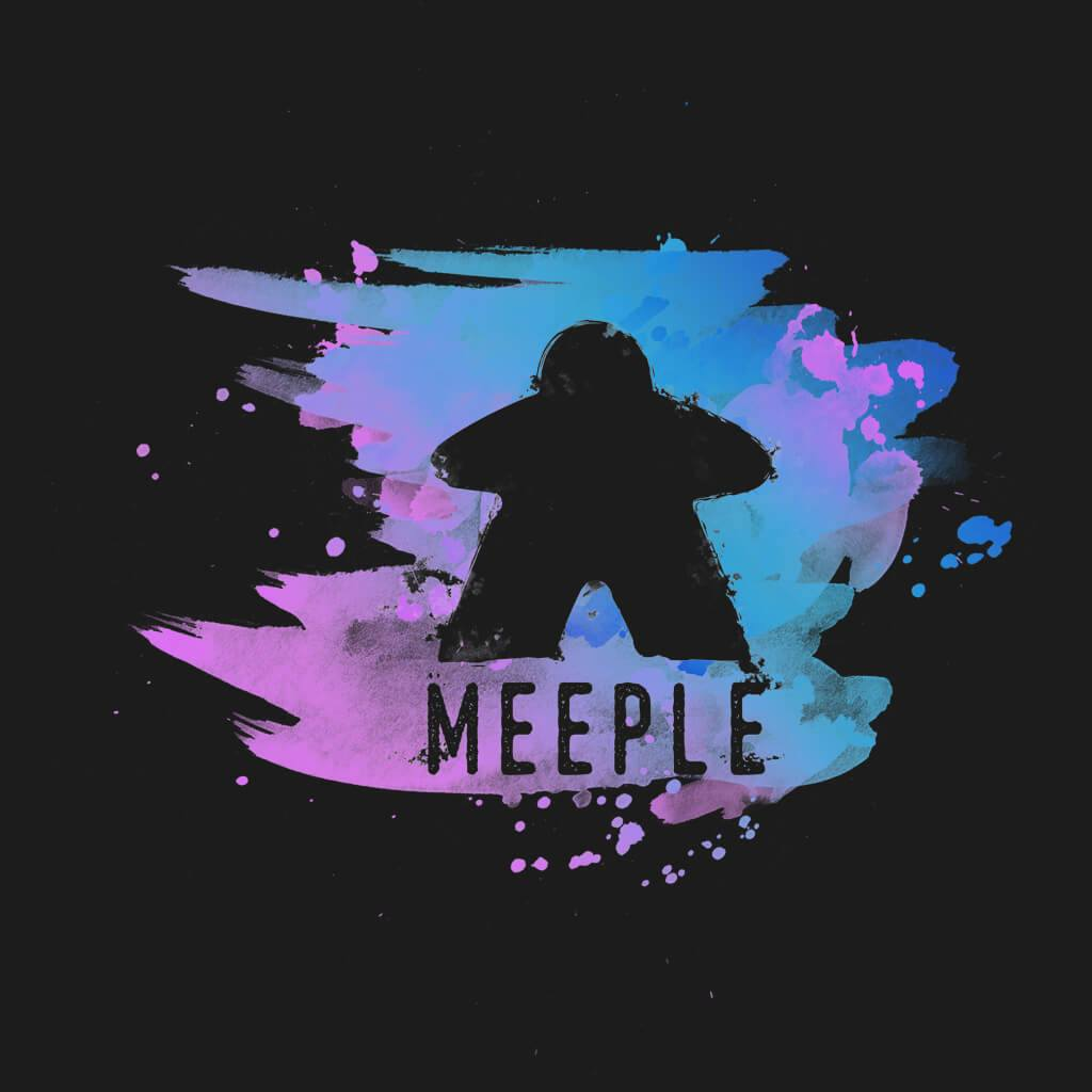 Meeple Splash - Meeple Shirts  - 1