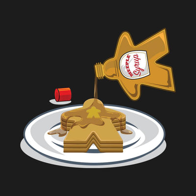 Meeple Syrup - Meeple Shirts  - 1