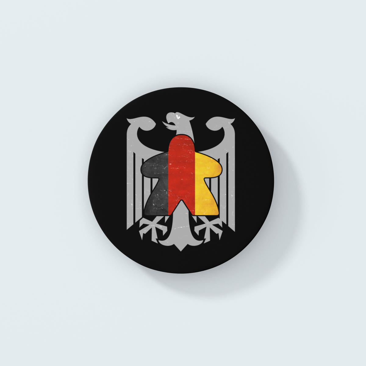 German Flag Meeple Board Game Coaster