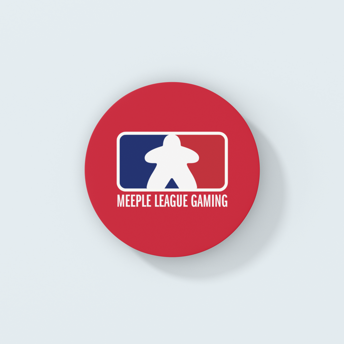 Meeple League Gaming Board Game Coaster