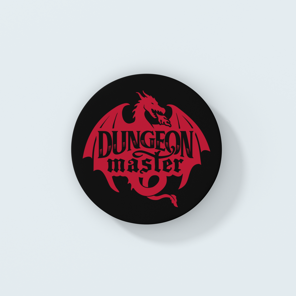 Dungeon Master Dragon Emblem Coaster