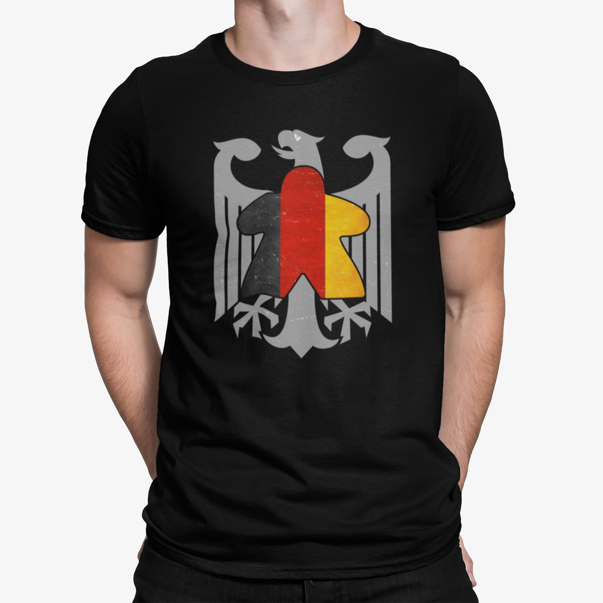German Flag Meeple Board Game T-Shirt
