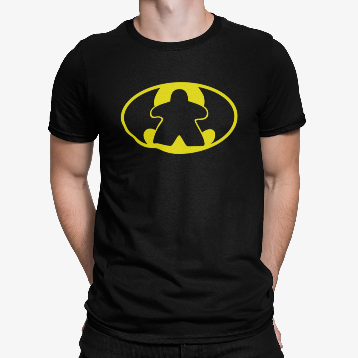 BatMeeple Symbol Board Game T-Shirt