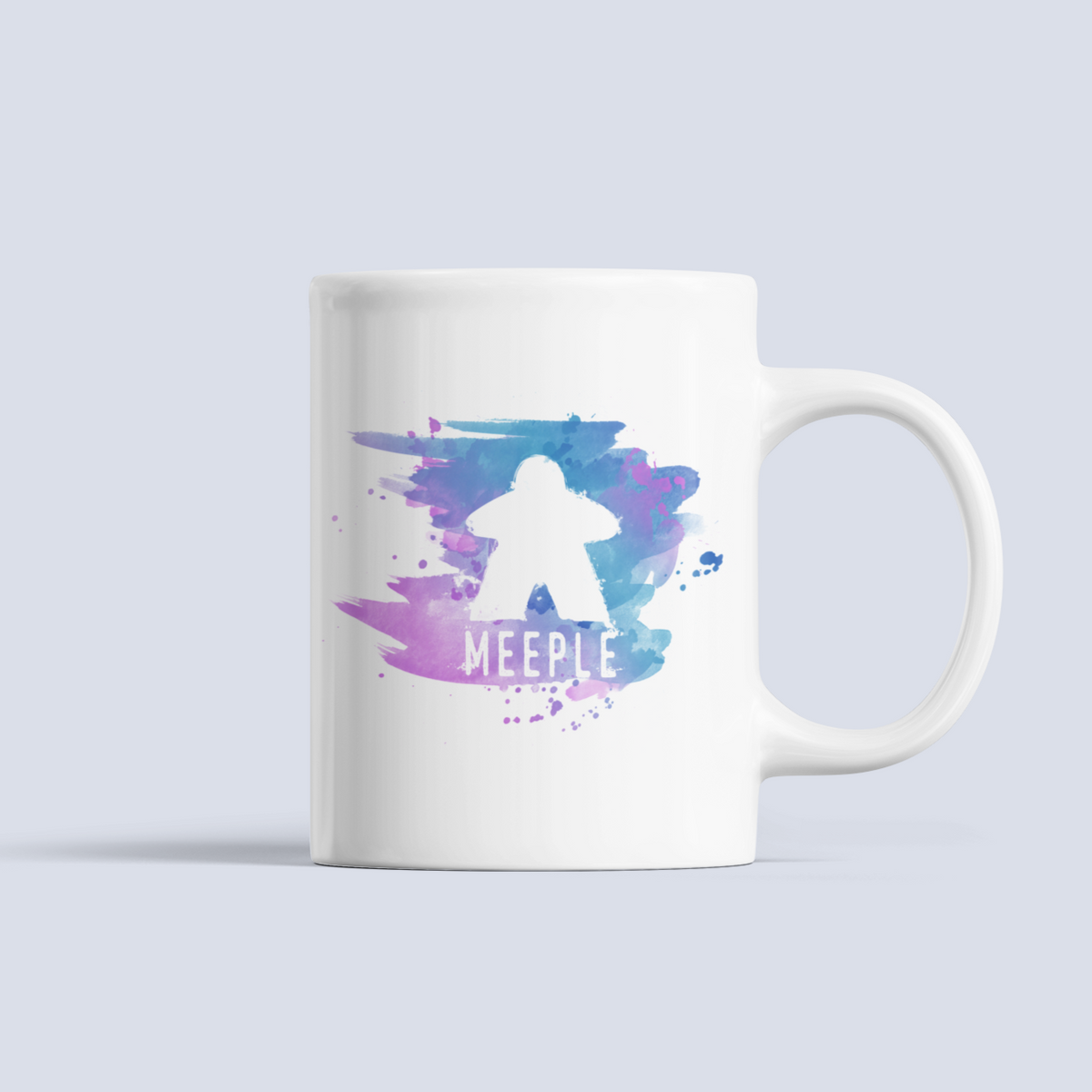 Meeple Splash Board Game Ceramic Mug