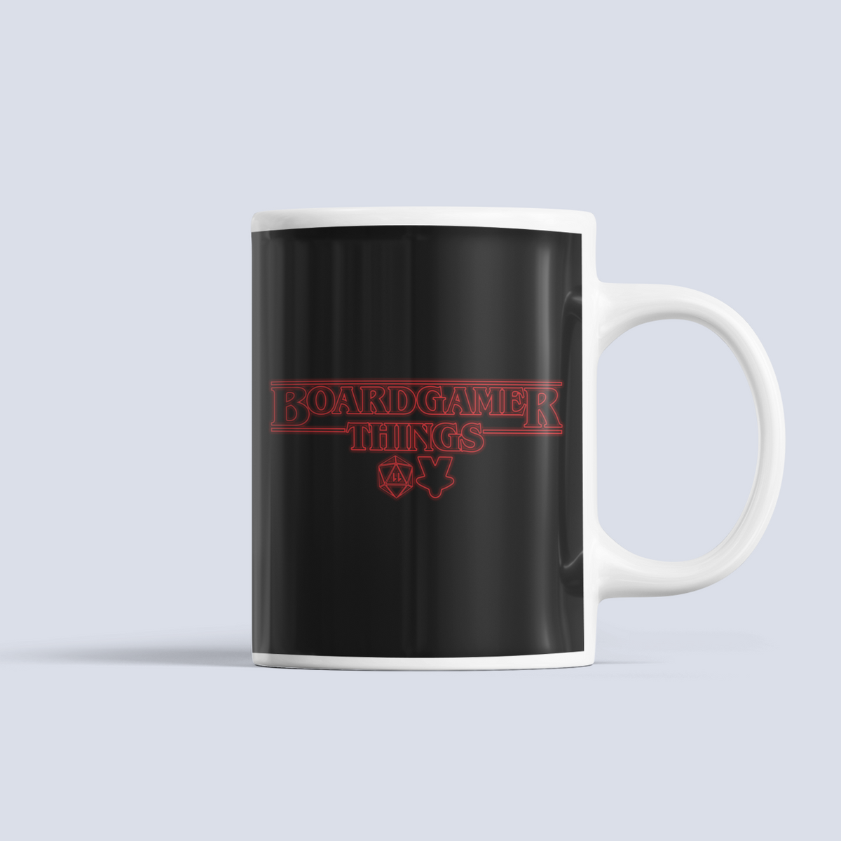 Board Gamer Things Ceramic Mug