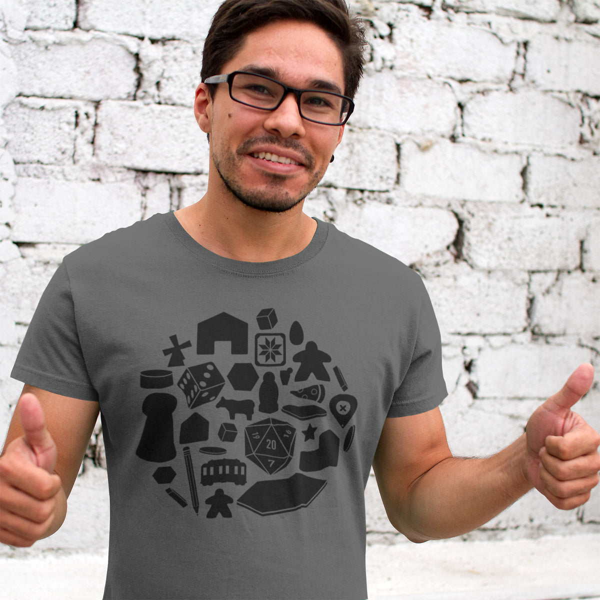 Board Game Pieces T-Shirt