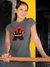Black Meeple Board Game T-Shirt Action Shot Women's