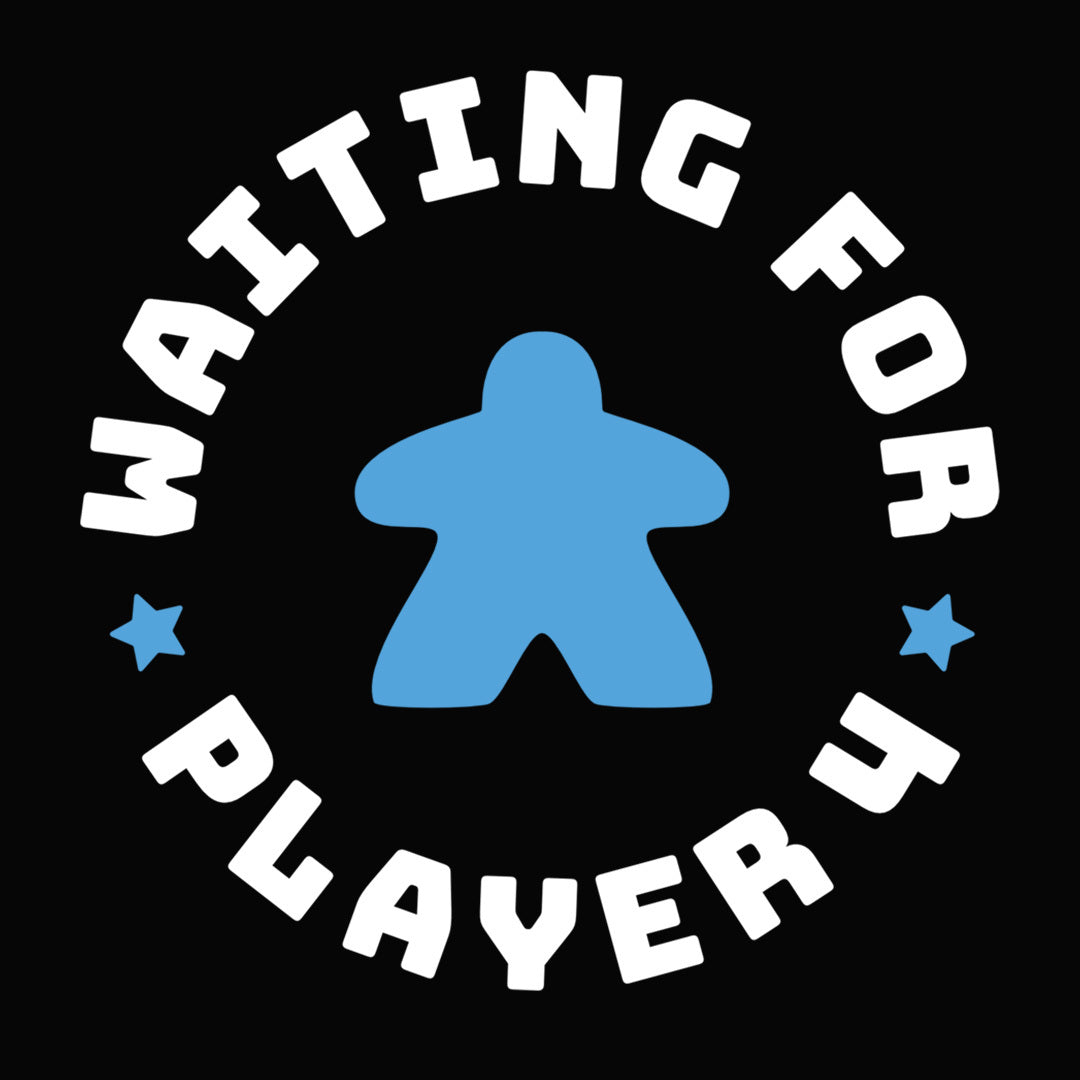 Waiting For Player 4 Maternity T-Shirt Close Blue