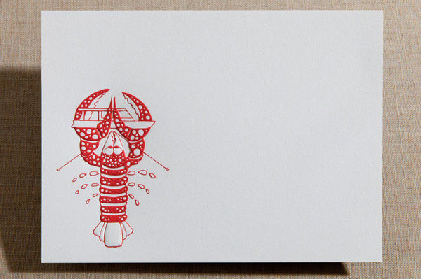 Flat Cards - Lobster