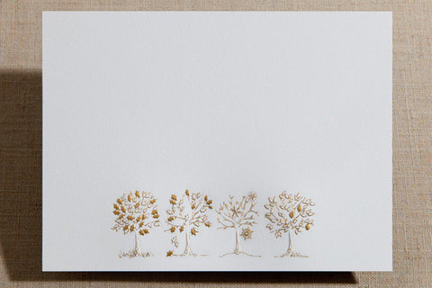 Flat Cards - Four Season Tree