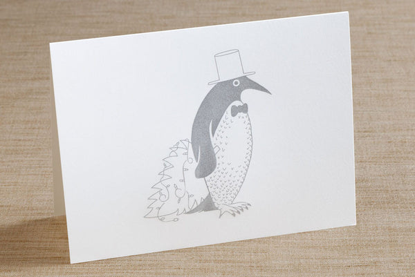 Folded Cards - Christmas Penguin