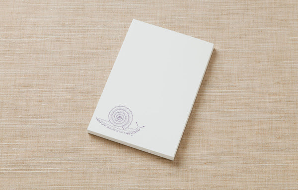 Note Pad - Snail