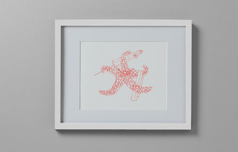 Art Print - Starfish with Beach Gear