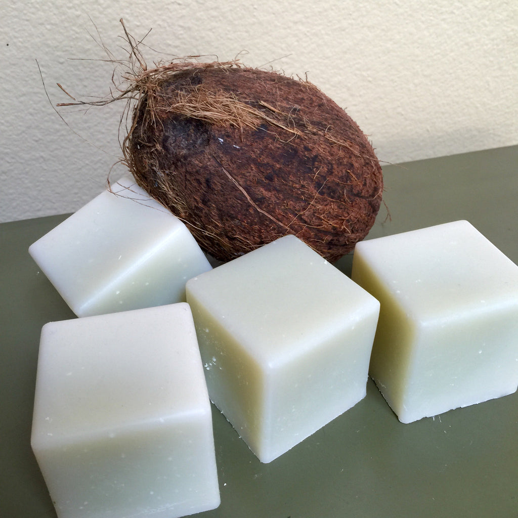 Coconut Lime Cube Soap