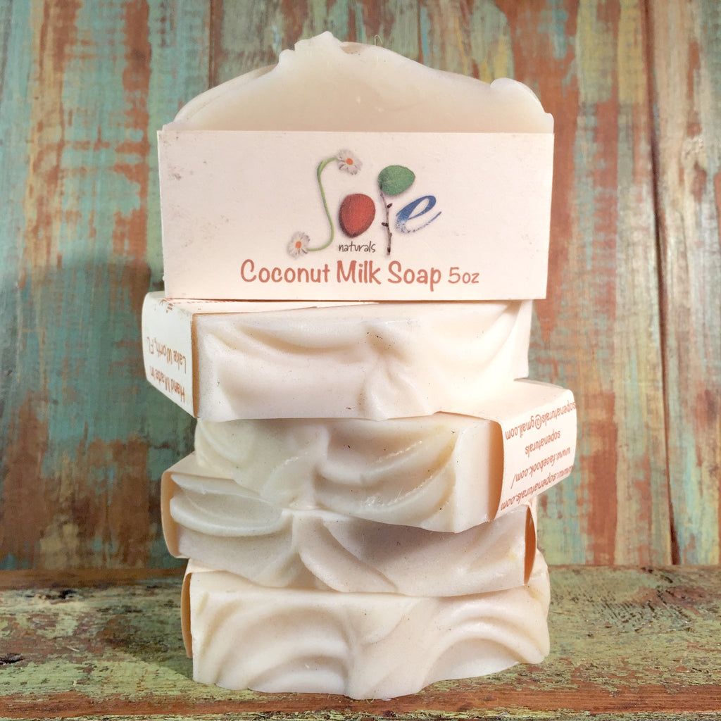 Coconut Milk Soap, Natural Soap, Real Soap