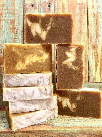 Fall in Lav! Pumpkin Spice & Lavender Soap!