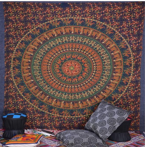 Mandala Tapestry-email for availability