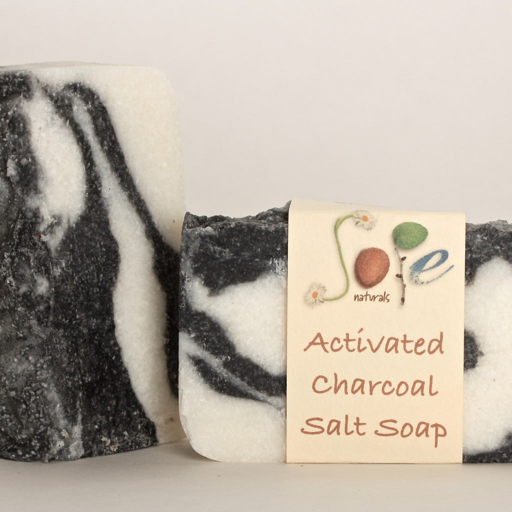 Soap Naturals, Sopenaturals, Activated Charcoal Salt Soap, sea salt, activated charcoal, natural soap, sope naturals