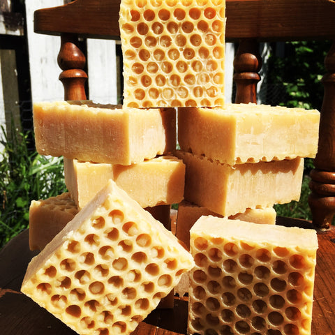Honeycomb Soap-On the curing rack-Ready 10/30/2020