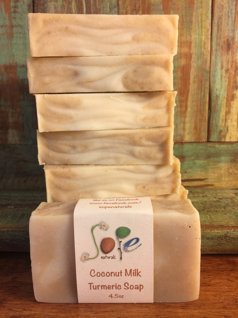 Coconut Milk Turmeric Soap