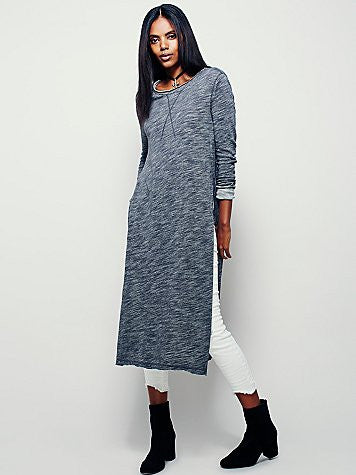 Free People To The Max Pullover, Charcoal