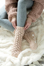 Vale Cozy Booties in Blush