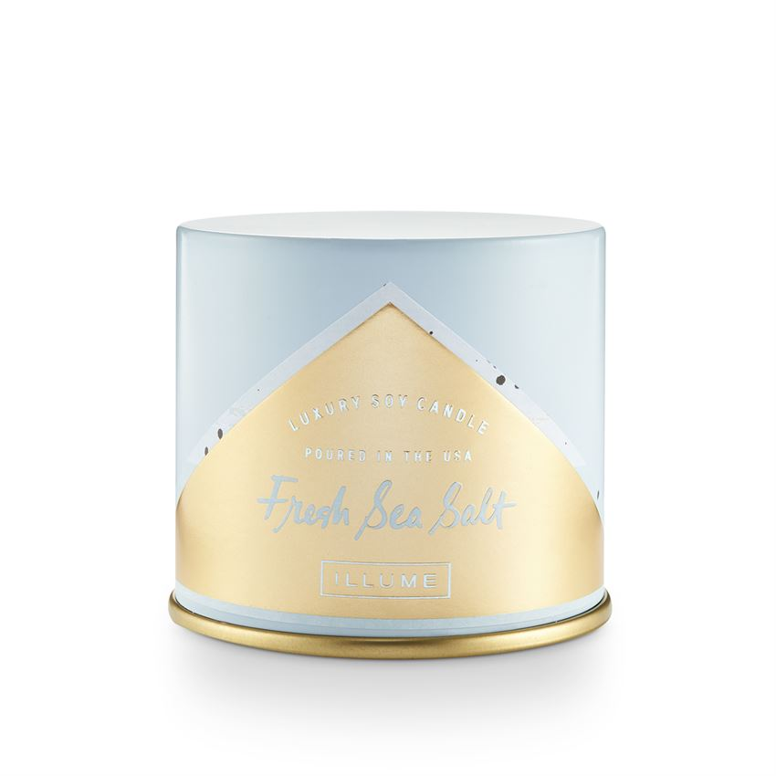 Fresh Sea Salt 11.8oz Vanity Tin Candle