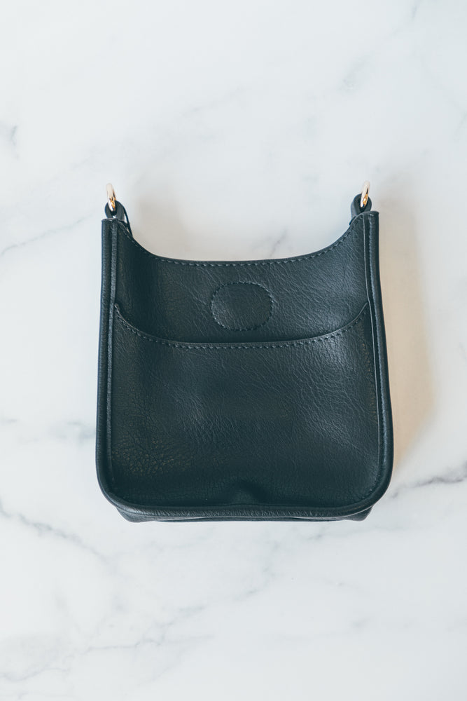 Petite Messenger without Strap in Black