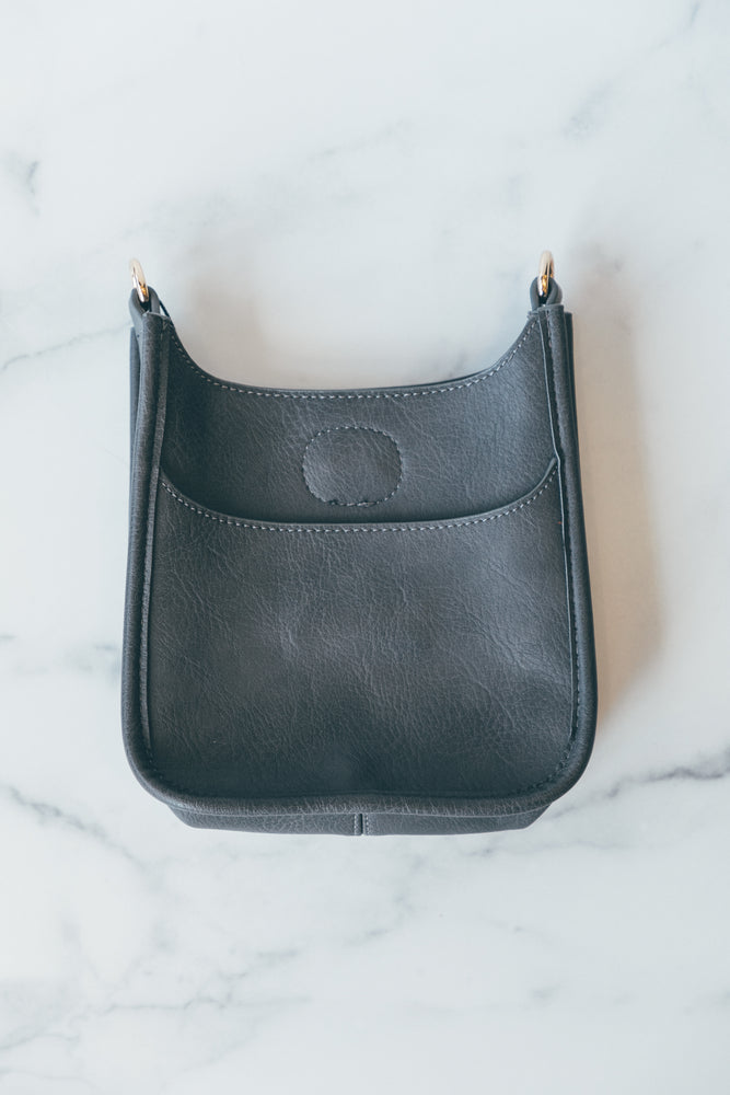 Petite Messenger without Strap in Grey