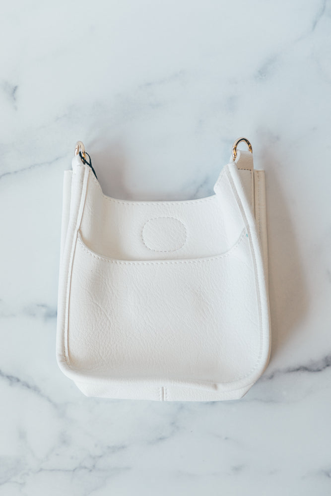 Petite Messenger without Strap in White