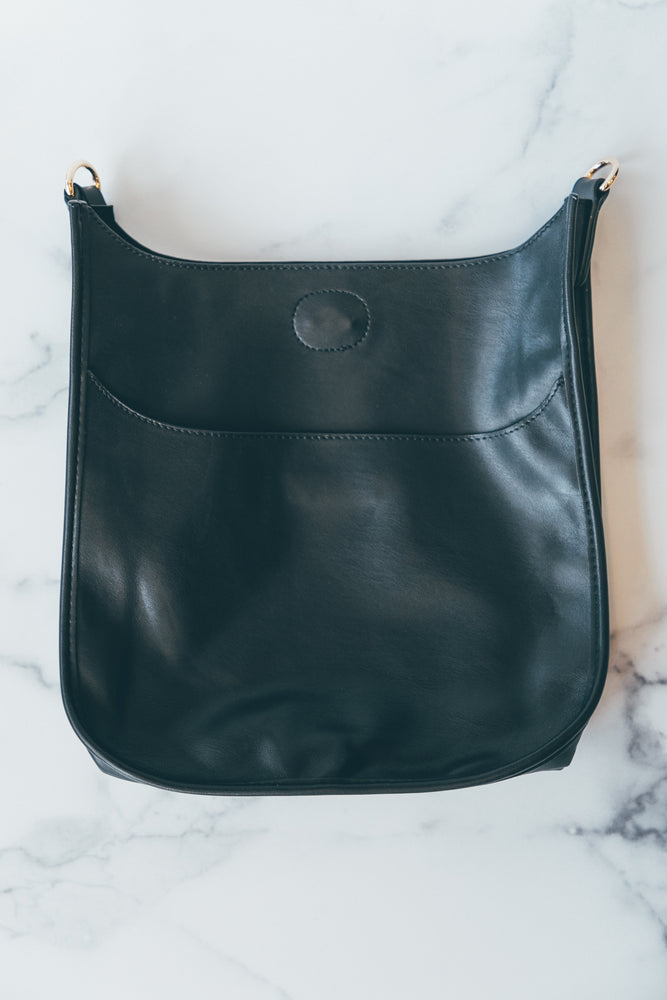 Messenger without Strap in Black