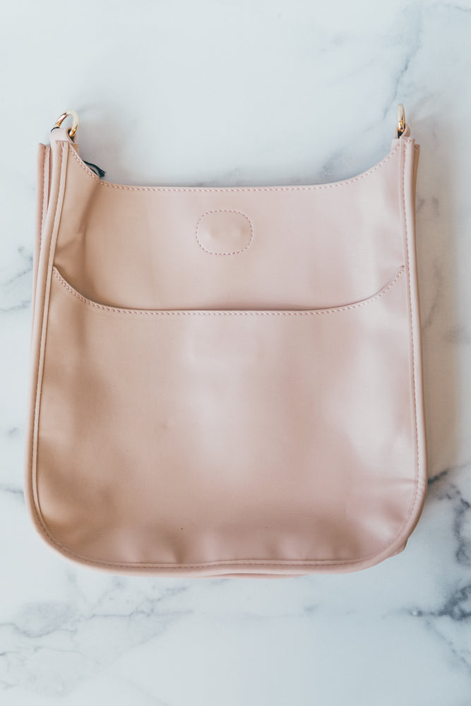 Messenger without Strap in Blush