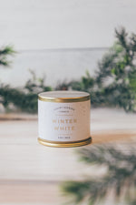 Illume 3oz Demi Tin in Winter White