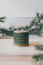 3oz Demi Tin in Balsam & Cedar