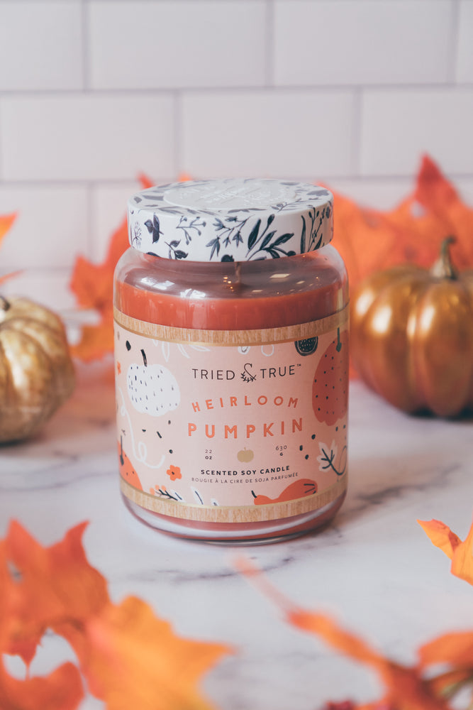 Heirloom Pumpkin 22 oz Jar