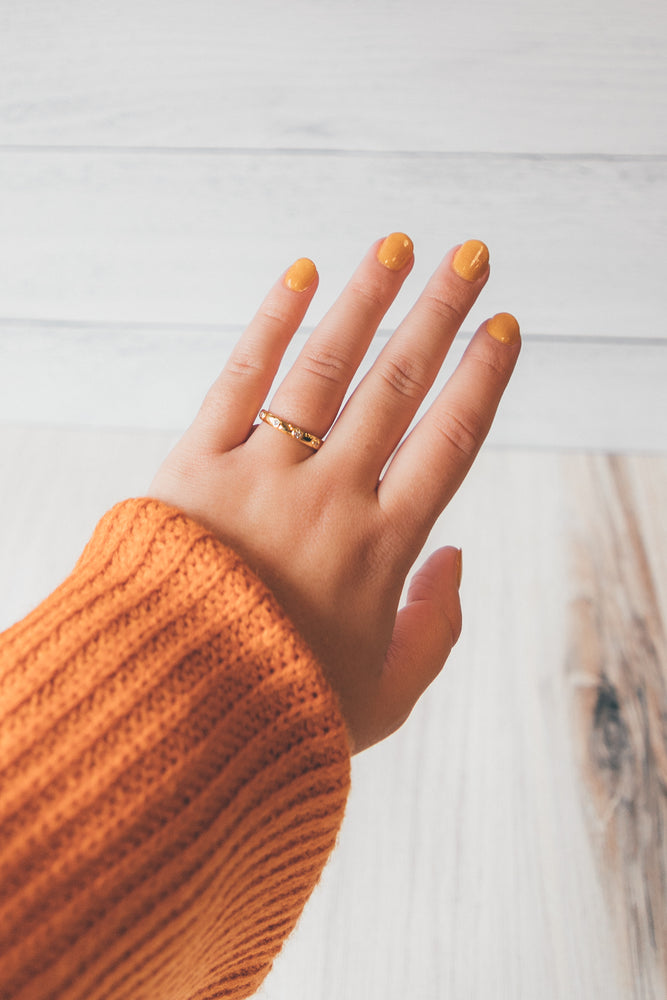 Brave Ring in Gold