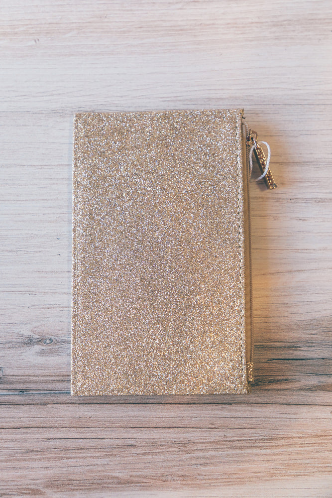 Gold Sparks Card Case