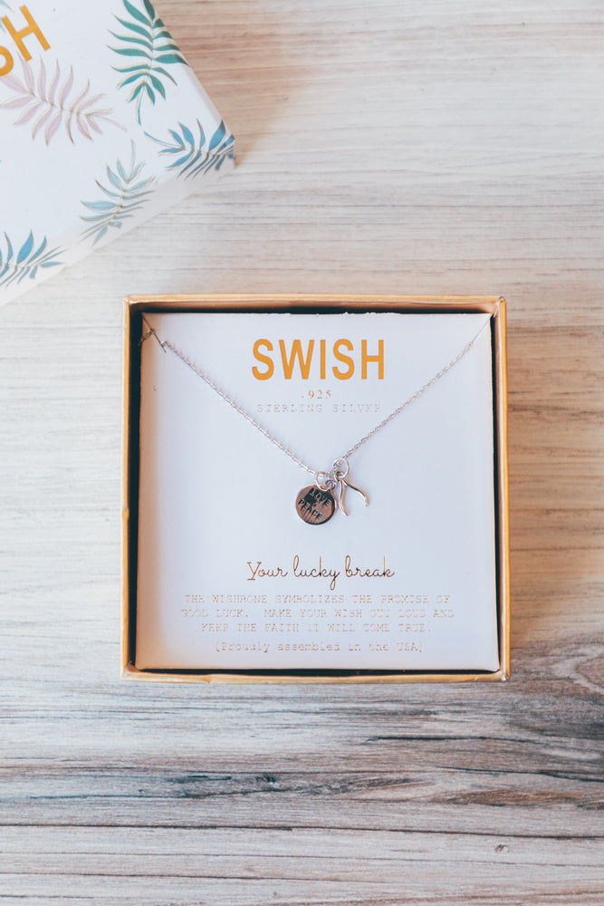 Your Lucky Break Charm Necklace