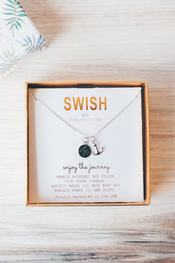Enjoy the Journey Charm Necklace