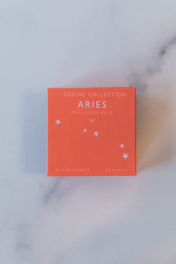 Zodiac Mini Stone Set - Aries