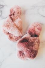 Stowe Tie-Dye Slippers - Blush
